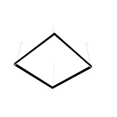 Lampa liniowa LED Abigali Square System duble side kwadrat 120x120