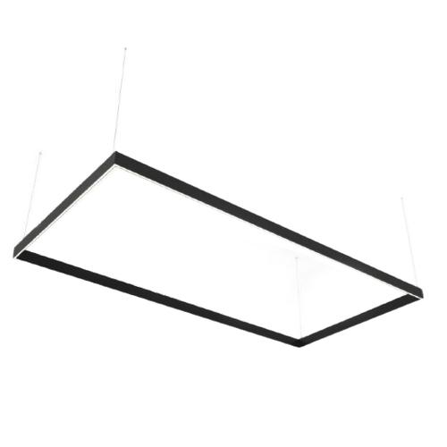 Lampa liniowa LED Abigali Rectangle System duble side prostokąt 240x120