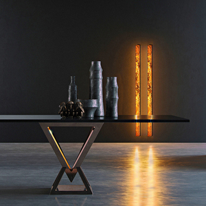Lampa ścienna Abigali 6611 Marble Stone 606R 28W 3000K small 2