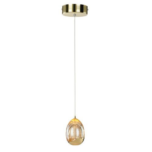 Złota Lampa Wisząca Huelto LED