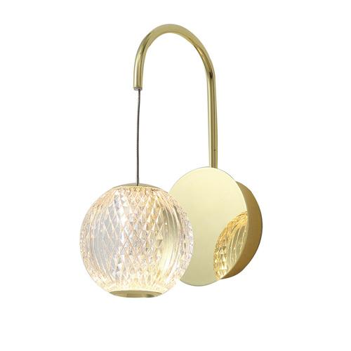 Złoty Klasyczny Kinkiet Rosario LED