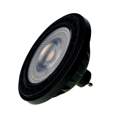Żarówka Ar111 10 W Gu10 4000 K/ Czarna