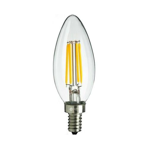 Żarówka Filamentowa Led 6 W świeczka E14 2700 K