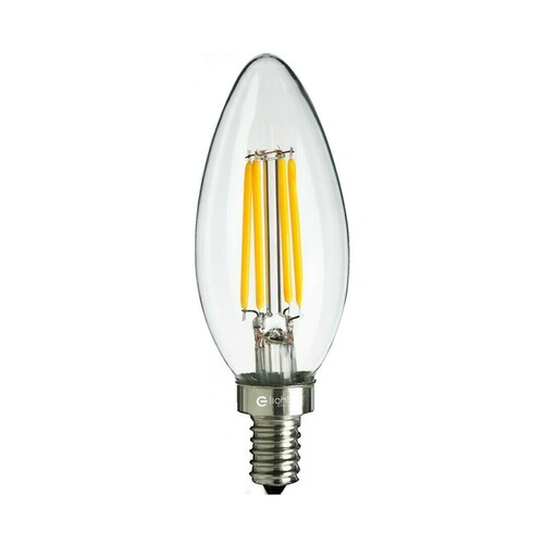 Żarówka Filamentowa Led 6 W świeczka E14 4000 K