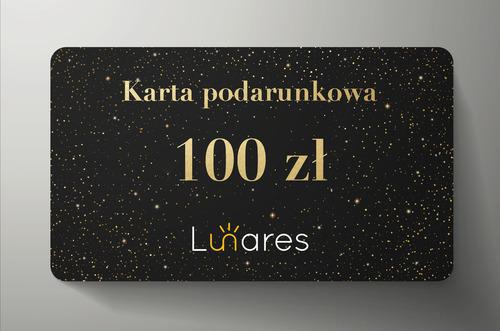 Karta podarunkowa Lunares 100zł