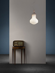 Lampa wisząca Fabbian Aérostat F27 13W 33cm - naturalny - F27 A11 19 small 5