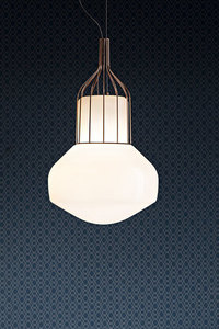 Lampa wisząca Fabbian Aérostat F27 13W 33cm - naturalny - F27 A11 19 small 0