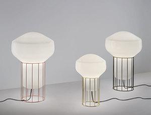 Lampa wisząca Fabbian Aérostat F27 43cm - naturalny - F27 A13 19 small 8