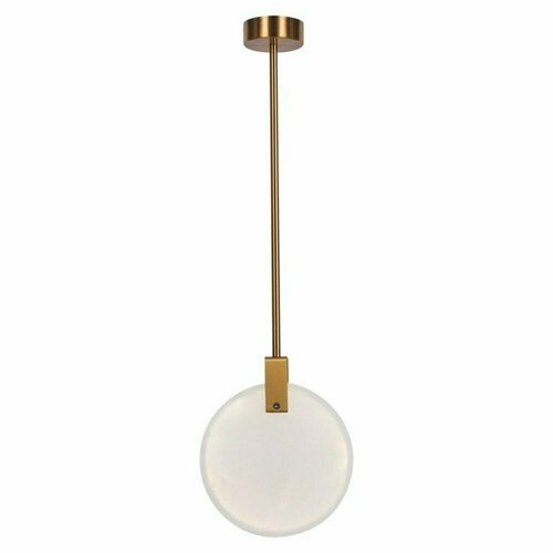 Lampa wisząca MARBLE LED marmurowo złota 30 cm