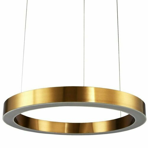 Lampa wisząca CIRCLE 120 LED mosiądz 120 cm