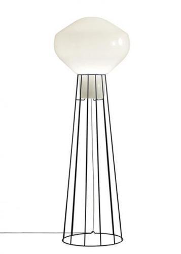 Lampa podłogowa Fabbian Aérostat F27 43cm - czarny chrom - F27 C03 24