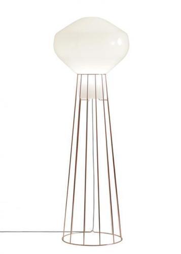 Lampa podłogowa Fabbian Aérostat F27 43cm - miedź - F27 C03 41