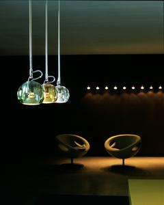 Lampa wisząca Fabbian Beluga Colour D57 7W - Przeźroczysty - D57 A11 00 small 12