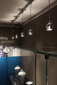 Lampa biurkowa Fabbian Beluga Colour D57 7W - Przeźroczysty - D57 B03 00 small 2