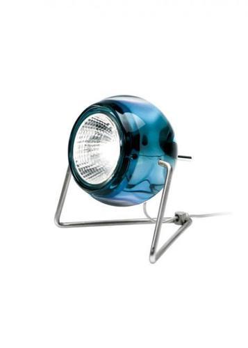 Lampa biurkowa Fabbian Beluga Colour D57 7W - niebieski - D57 B03 31