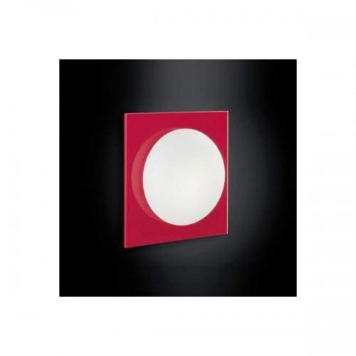 Kinkiet Murano Due (Leucos) Mini Gio Red/White 40W G9
