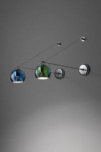 Lampa biurkowa Fabbian Beluga Colour D57 7W - Zielony - D57 B03 43 small 5