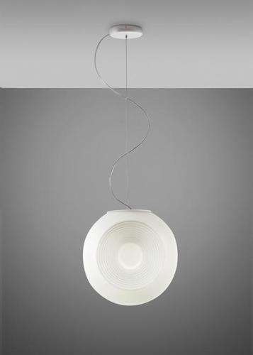 Lampa wisząca Fabbian Eyes F34 10W Chromowana podsufitka - Biały - F34 A01 01