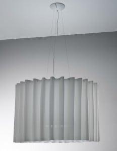 Lampa Wisząca AXO Light Skirt 100  SK szara small 0