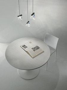 Lampa stołowa Fabbian Tripla F41 3W 3000K - Chromowany - F41 B01 11 small 2