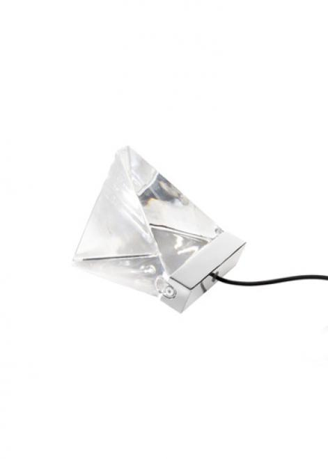 Lampa stołowa Fabbian Tripla F41 3W 3000K - Chromowany - F41 B01 11