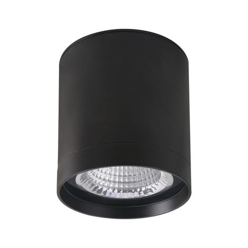 Czarna Lampa Natynkowa Vetra IP65