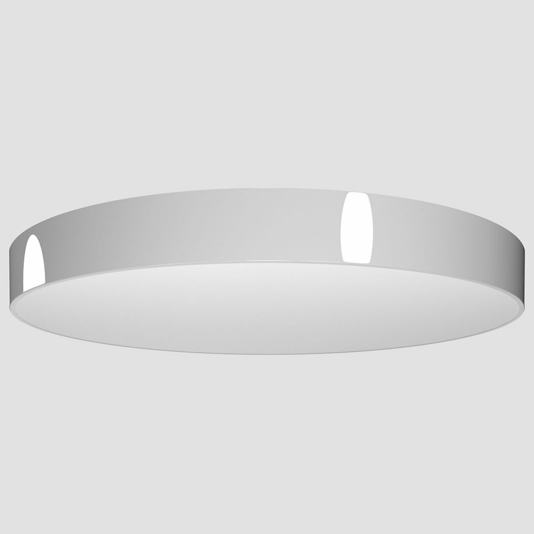 ABA PREMIUM 1400 plafon, LED PHILIPS LV 324W/39600lm/3000K, 230V, srebrny aluminiowy (połysk) RAL 9006