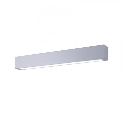 Biały kinkiet łazienkowy Ibros IP44 średni