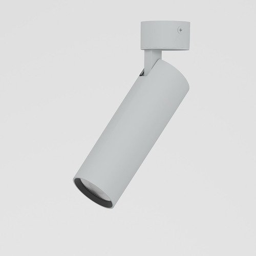 ANN LED SLM, L09, projektor stropowy, 1280lm/15D/927, srebrny aluminiowy (mat struktura) RAL 9006