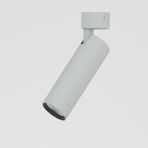 ANN LED SLM, L09, projektor stropowy, 1280lm/24D/927, srebrny aluminiowy (mat struktura) RAL 9006