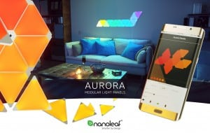 Dodatkowe panele Nanoleaf Aurora Light Panels Expansion Pack Smart home -  3 sztuki small 3