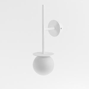 COTTON kinkiet fi100 max.1x1,9W, G9, 230V, biały  (mat) RAL 9003 small 0