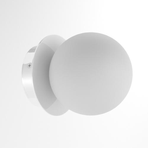 COTTON kinkiet fi100 max.1x1,9W, G9, 230V, biały  (połysk) RAL 9003