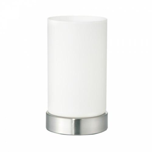Lampa Stołowa Nowoczesna Mleczna z przełącznikiem na kablu