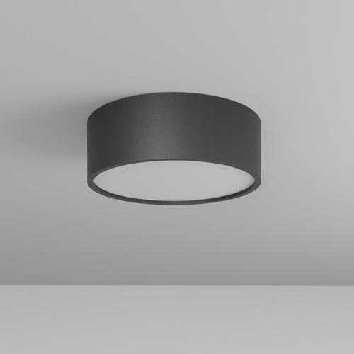 DOT A/A/Z1/Sd stropowy LED 10W/970lm/3000K, 230V, czarny głęboki (mat struktura) RAL 9005