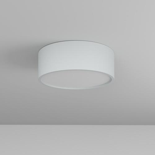 DOT A/A/Z1/Sd stropowy LED 10W/970lm/3000K, 230V, srebrny aluminiowy (mat struktura) RAL 9006
