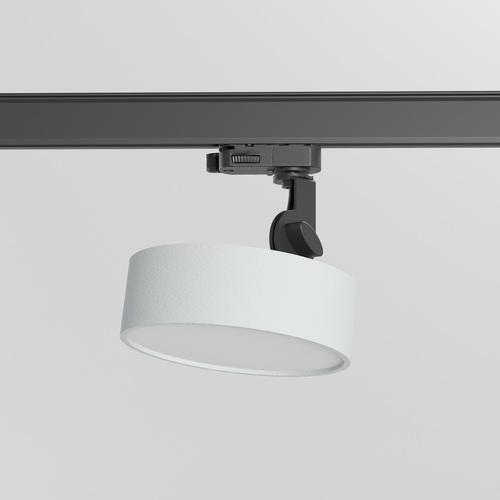 DOT ST/A/Z1/Td projektor track, LED 10W/970lm/3000K, 230V, srebrny aluminiowy (mat struktura) RAL 9006