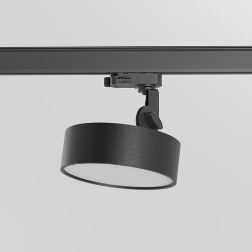 DOT ST/A/Z2/Td projektor track, LED 15W/1455lm/3000K, 230V, czarny głęboki (mat struktura) RAL 9005