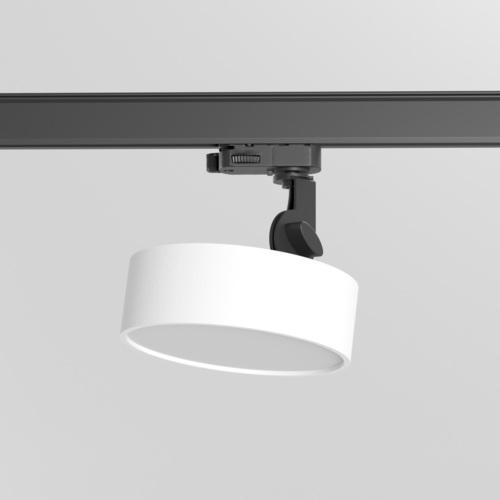 DOT ST/A/Z2/Td projektor track, LED 15W/1455lm/4000K, 230V, biały  (mat struktura) RAL 9003