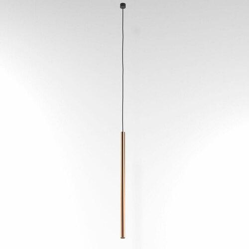 NER 450 wisząca max. 1x2,5W, G9, 230V, przewód czarny, kolor miedzi (gładki mat)