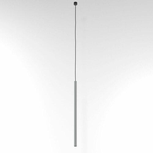 NER 550 wisząca max. 1x2,5W, G9, 230V, przewód czarny, srebrny aluminiowy (mat) RAL 9006