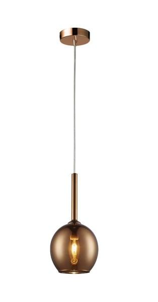 LAMPA WEWNĘTRZNA (WISZĄCA) ZUMA LINE MONIC PENDANT MD1629-1 COPPER