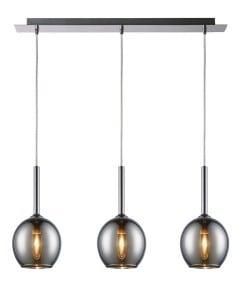LAMPA WEWNĘTRZNA (WISZĄCA) ZUMA LINE MONIC PENDANT MD1629-3A (CHROME) small 0