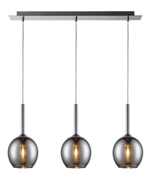 LAMPA WEWNĘTRZNA (WISZĄCA) ZUMA LINE MONIC PENDANT MD1629-3A (CHROME)