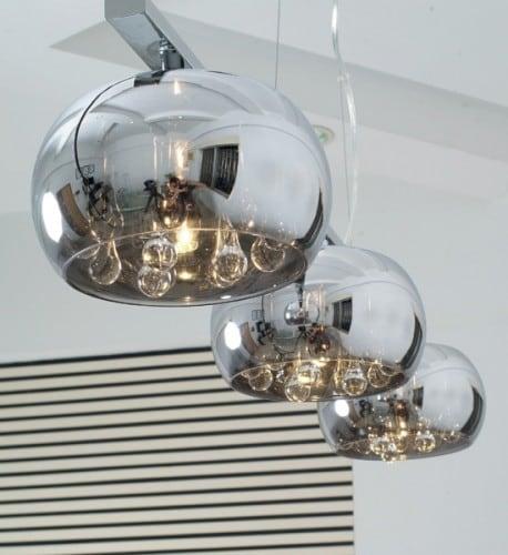 LAMPA WEWNĘTRZNA (WISZĄCA) ZUMA LINE CRYSTAL PENDANT P0076-03S-F4FZ