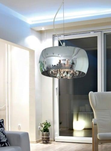 LAMPA WEWNĘTRZNA (WISZĄCA) ZUMA LINE CRYSTAL PENDANT P0076-03E-F4FZ