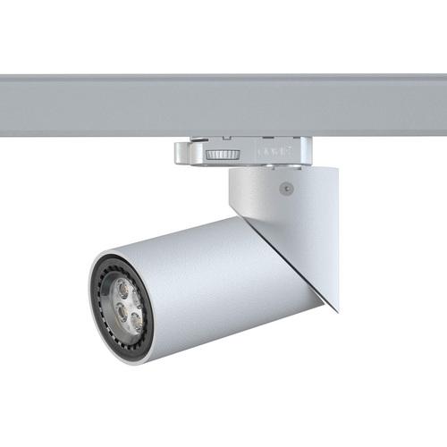TOLEDO B3T projektor track max. 1x50W, GU10, 230V, srebrny aluminiowy (mat struktura) RAL 9006