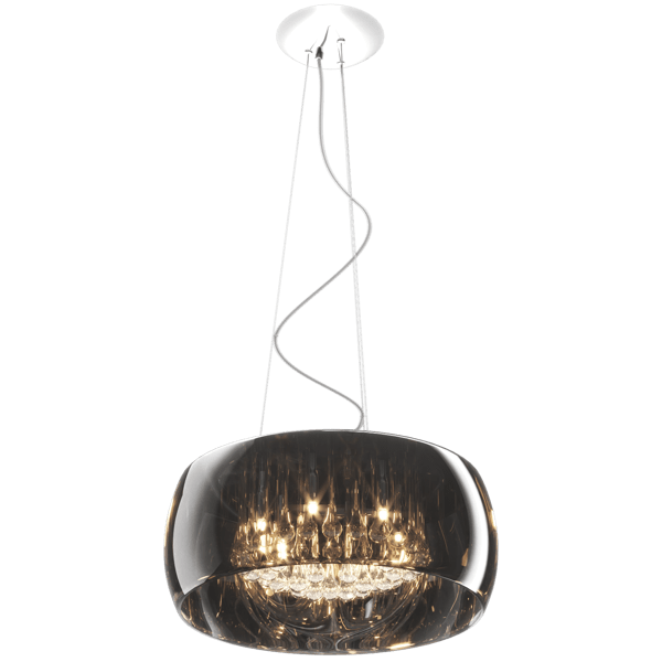 LAMPA WEWNĘTRZNA (WISZĄCA) ZUMA LINE CRYSTAL PENDANT P0076-06X-F4FZ