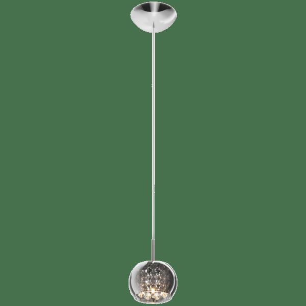 LAMPA WEWNĘTRZNA (WISZĄCA) ZUMA LINE CRYSTAL PENDANT P0076-01A-F4FZ