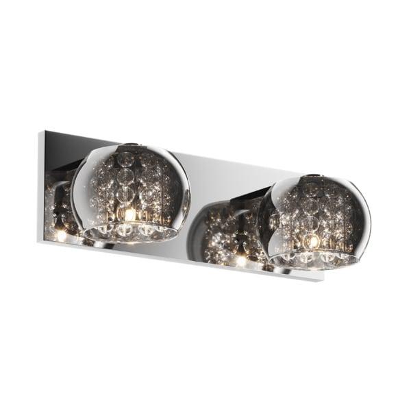 LAMPA WEWNĘTRZNA (KINKIET) ZUMA LINE CRYSTAL WALL W0076-02A-B5FZ